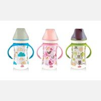 Botol Susu Bayi Wide Neck PeganganLusty Bunny 250ml 20040043