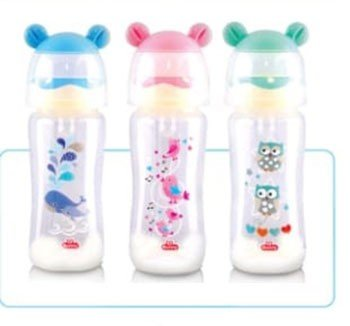 Botol Susu Bayi Wide Neck Lusty Bunny Ear 250ml 20040039