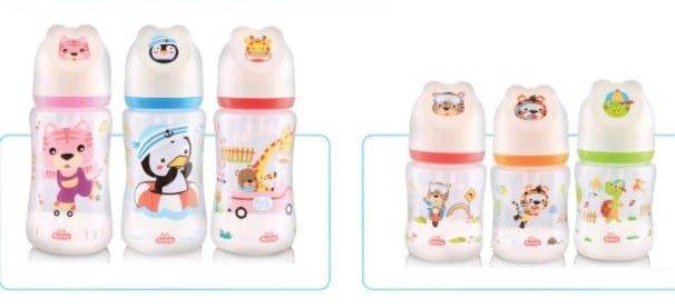 Botol Susu Bayi Wide Neck Lusty Bunny 250ml 20040037