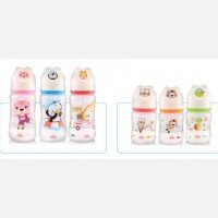 Botol Susu Bayi Wide Neck Lusty Bunny 250ml 20040037