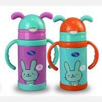 Baby Safe Vaccum Flask Botol Termos Sedotan 300ml 20060041