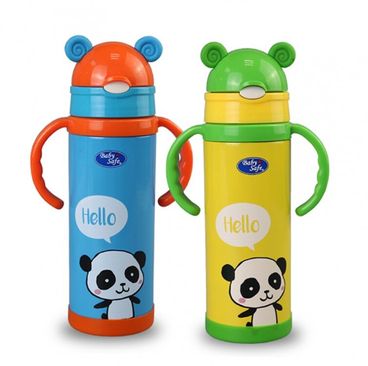 Baby Safe Vaccum Flask Botol Termos Sedotan 400ml 20060040
