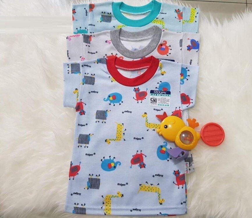 Baju Atasan Kaos Anak Ridges Elephant & Cow M 20080025