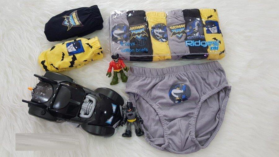 Celana Dalam Ridges Batman Isi 6 Size L 20080014