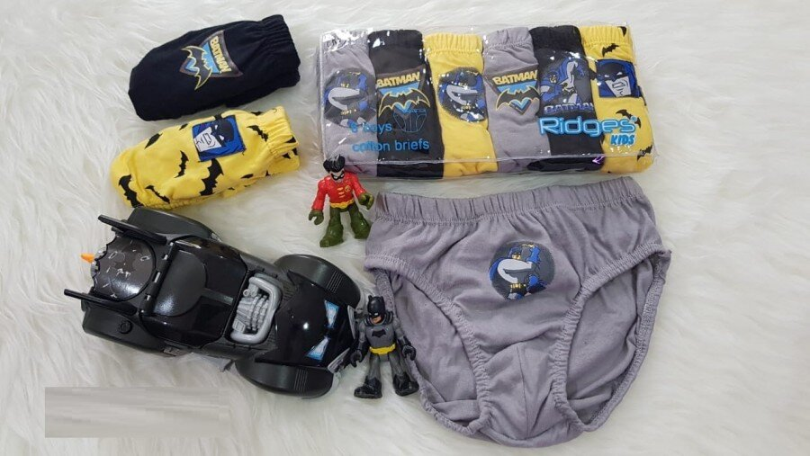 Celana Dalam Ridges Batman Isi 6 Size M 20080013