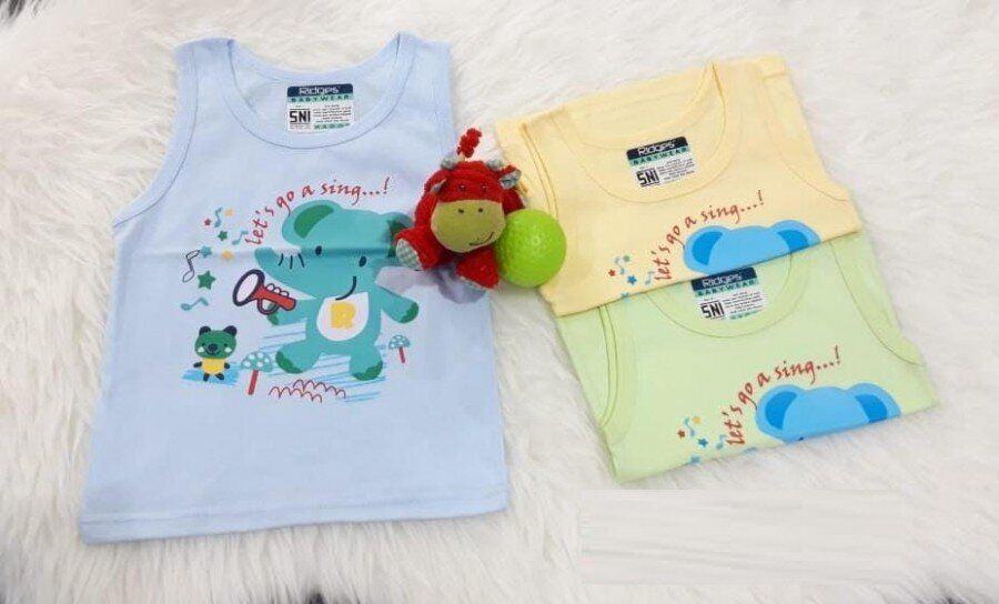 Baju Atasan Singlet Anak Ridges Go A Sing L 20050035