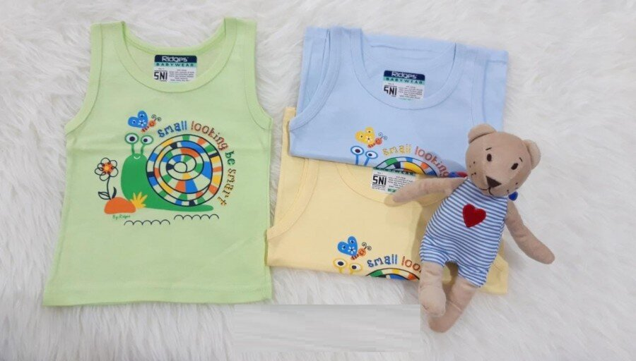 Baju Atasan Singlet Anak Ridges Small Looking Be Smart XL 20040016