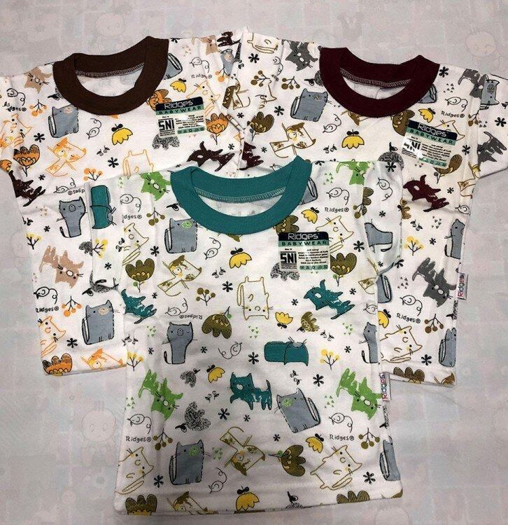 Baju Atasan Kaos Anak Ridges Cats M 20070004