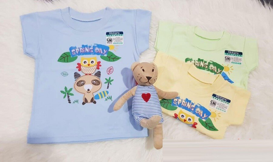 Baju Atasan Kaos Anak Ridges Spring Day M 20030032