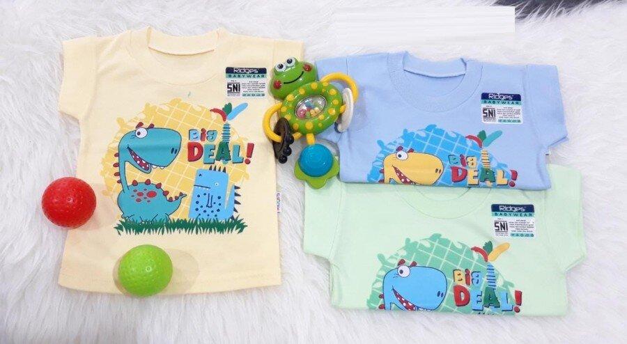 Baju Atasan Kaos Anak Ridges Big Deal L 20050039