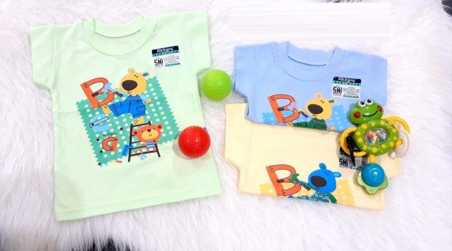 Baju Atasan Kaos Anak Ridges Bear M 20060037