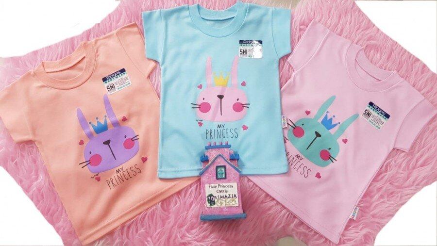 Baju Atasan Kaos Anak Ridges Princess  L 20080038