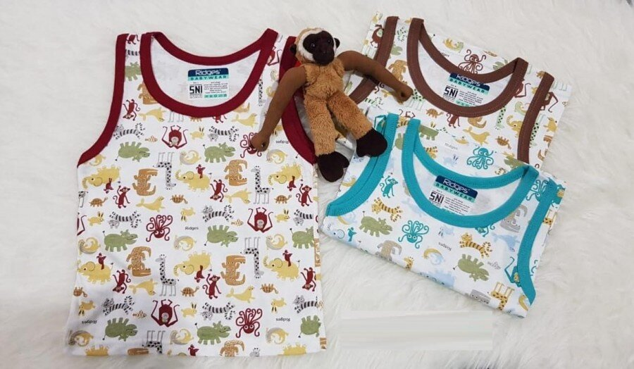 Baju Atasan Singlet Anak Ridges Jungle Land L 20040024