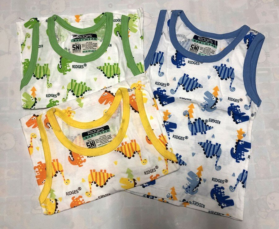 Baju Atasan Singlet Anak Ridges Two Dino L 20040056
