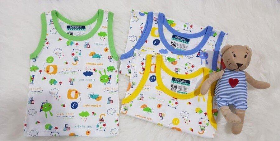 Baju Atasan Singlet Anak Ridges Cute Number L 20030051
