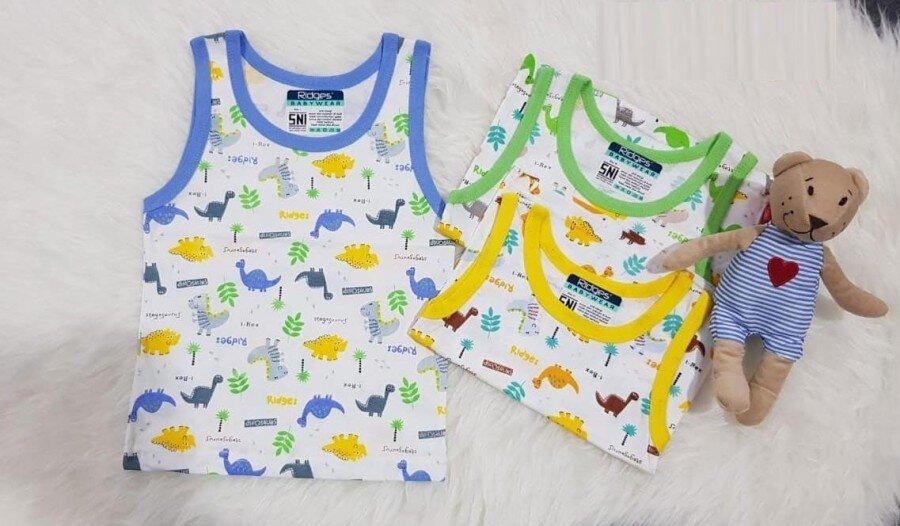 Baju Atasan Singlet Anak Ridges Dino's M 20030054