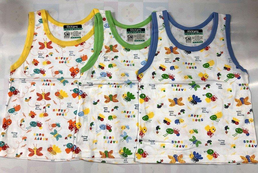 Baju Atasan Singlet Anak Ridges Flying & Smiling L 20010111