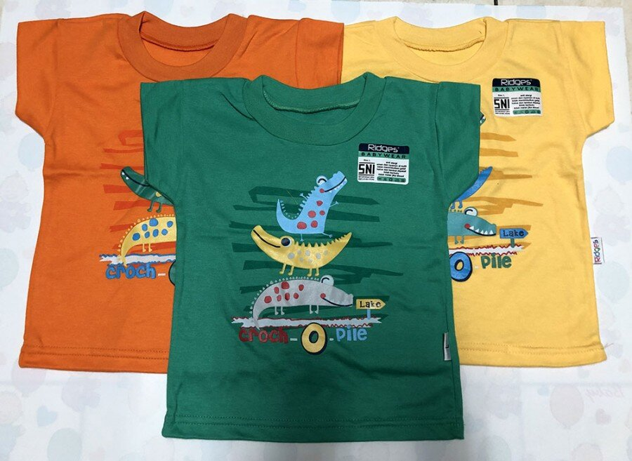 Atasan Kaos Anak Ridges Croch O Pile L 20040011