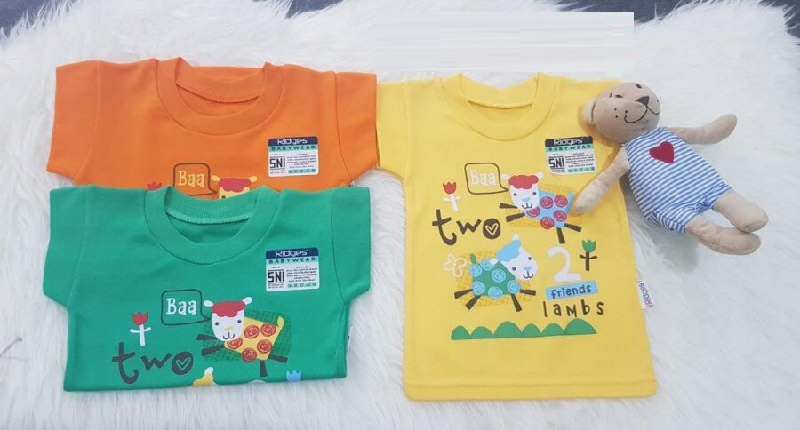 Atasan Kaos Anak Ridges Friend Lamb L 20070036