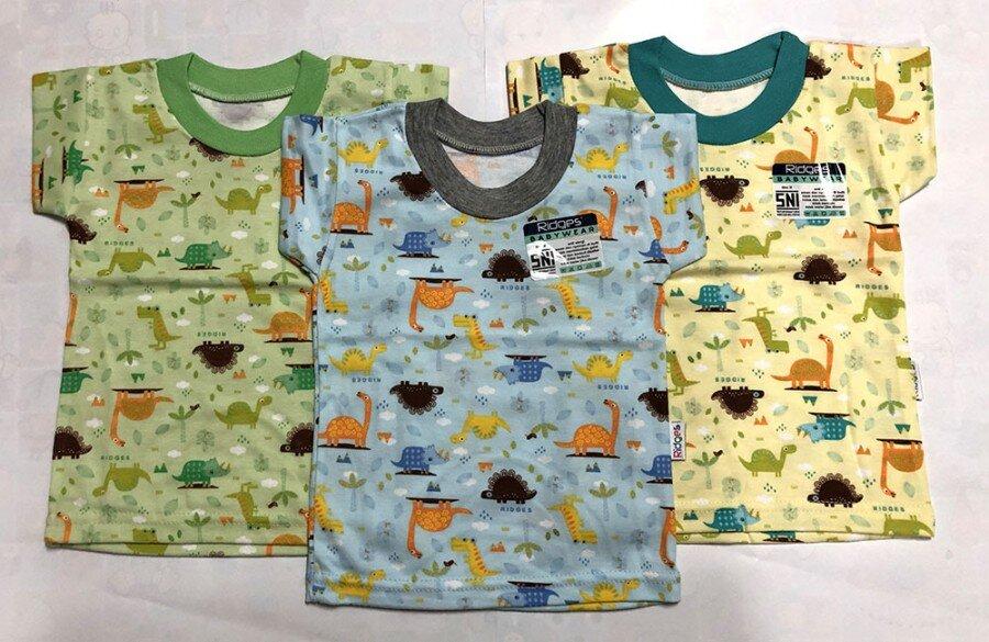Baju Atasan Kaos Anak Ridges Dino Ridges XL 20050016