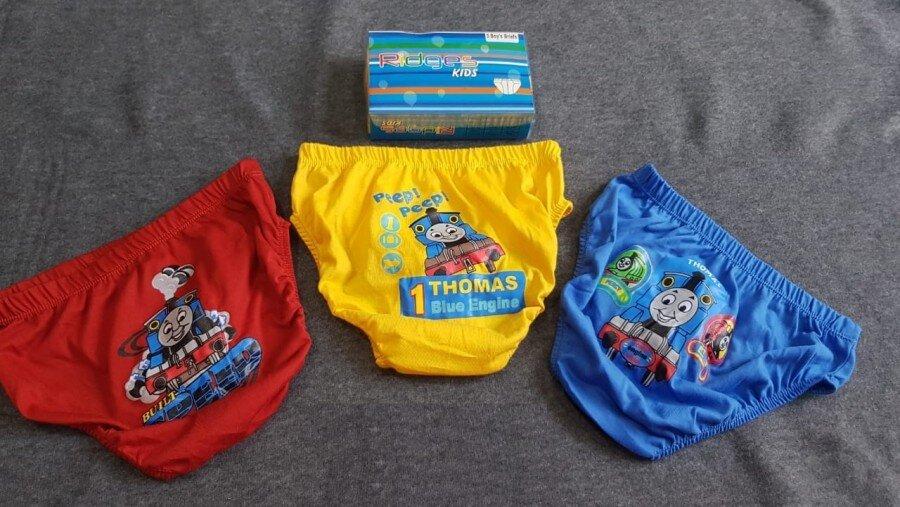 Celana Dalam Anak Ridges Thomas Warna Isi 3 Size S 20040050