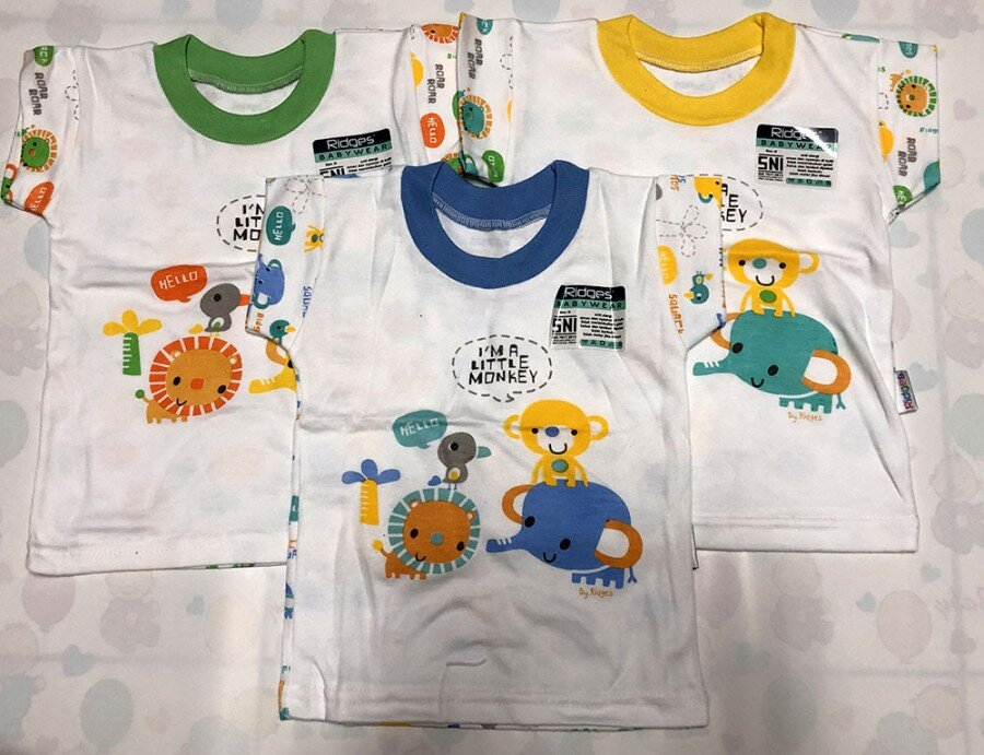 Baju Atasan Kaos Anak Ridges New Monkey XL 20040029