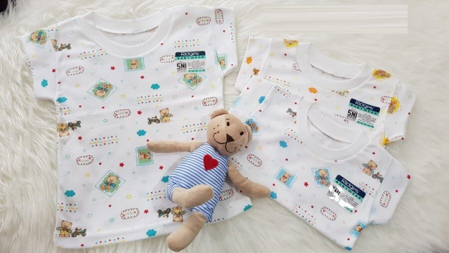 Baju Atasan Kaos Anak Ridges Barney Gambar M 20060029