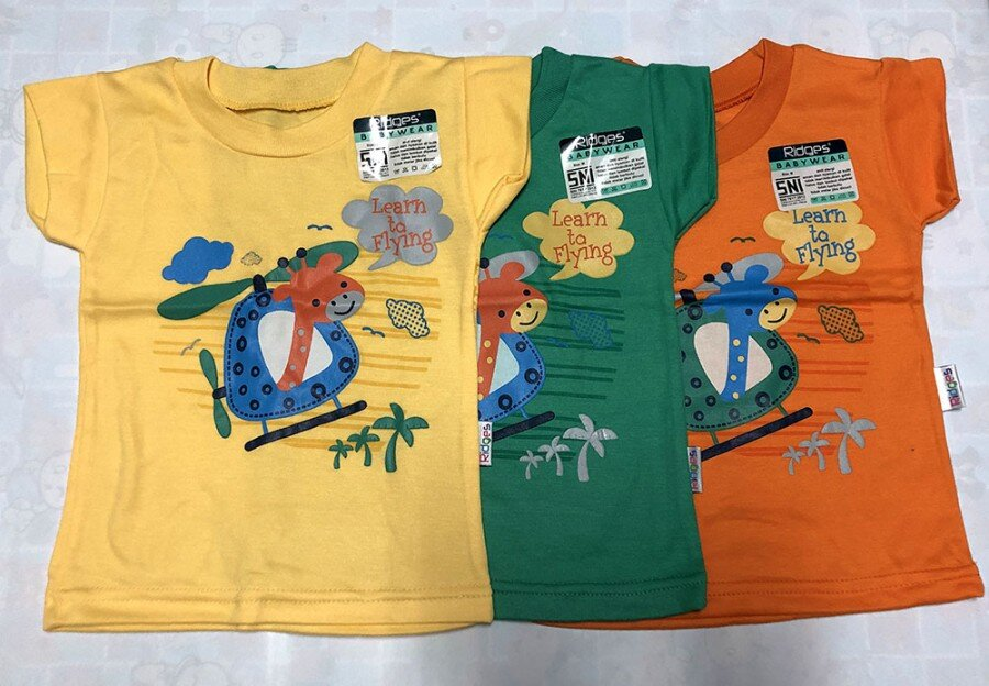 Atasan Kaos Anak Ridges Learn to Flying XL 20030019