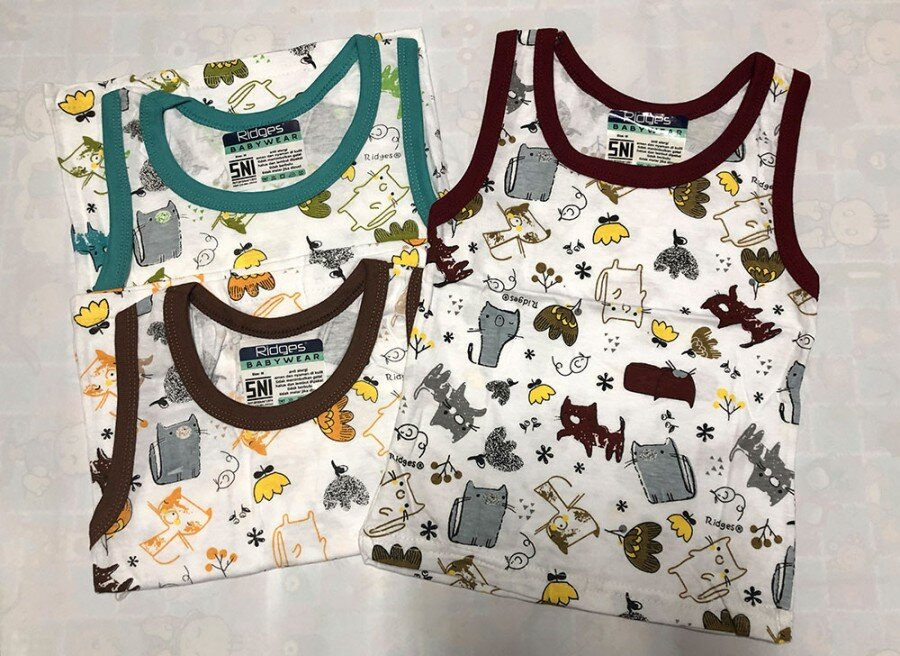 Baju Atasan Singlet Anak Ridges Cats S 20040062