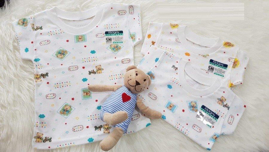 Baju Atasan Kaos Anak Ridges Barney Gambar XL 20060031