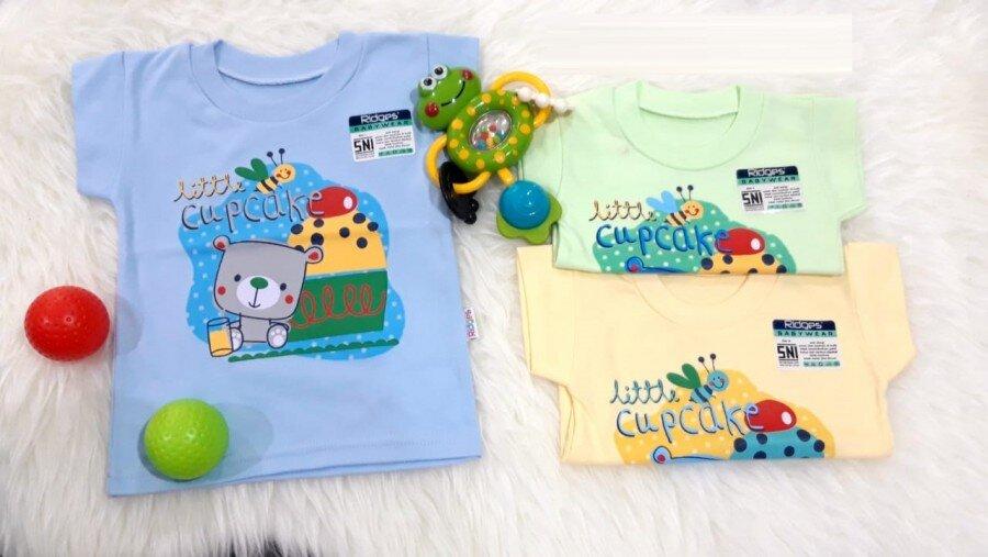 Baju Atasan Kaos Anak Ridges Little Cupcake XL 20060035