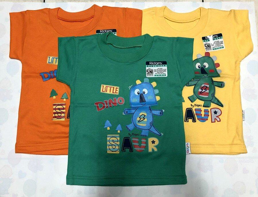 Atasan Kaos Anak Ridges Little Dinosaur XL 20040004