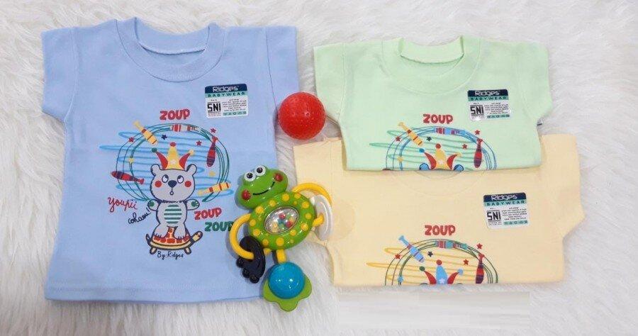 Baju Atasan Kaos Anak Ridges Zoup Zoup S 20050025