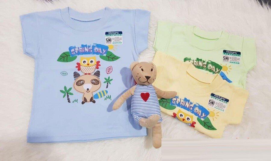 Baju Atasan Kaos Anak Ridges Spring Day XL 20030034