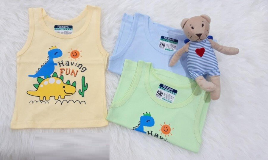 Baju Atasan Singlet Anak Ridges Having Fun XL 20040020