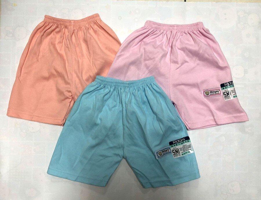 Celana Pendek Anak Perempuan Polos Ridges XL 20080047