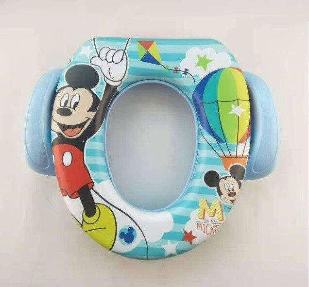 Baby Potty Seat Anak / Dudukan Toilet Anak Mickey Baby Grow (With Handle)