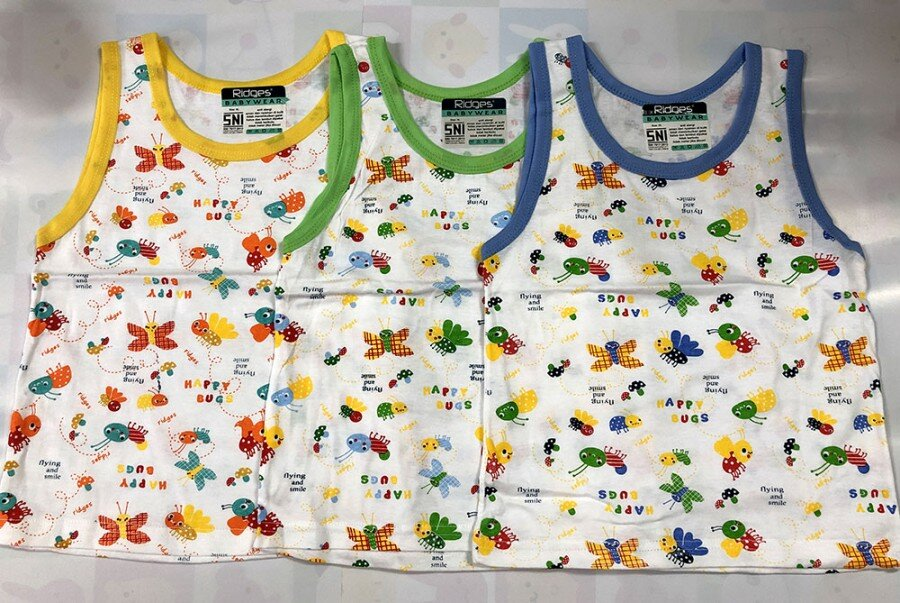 Baju Atasan Singlet Anak Ridges Flying & Smiling XL 20010112