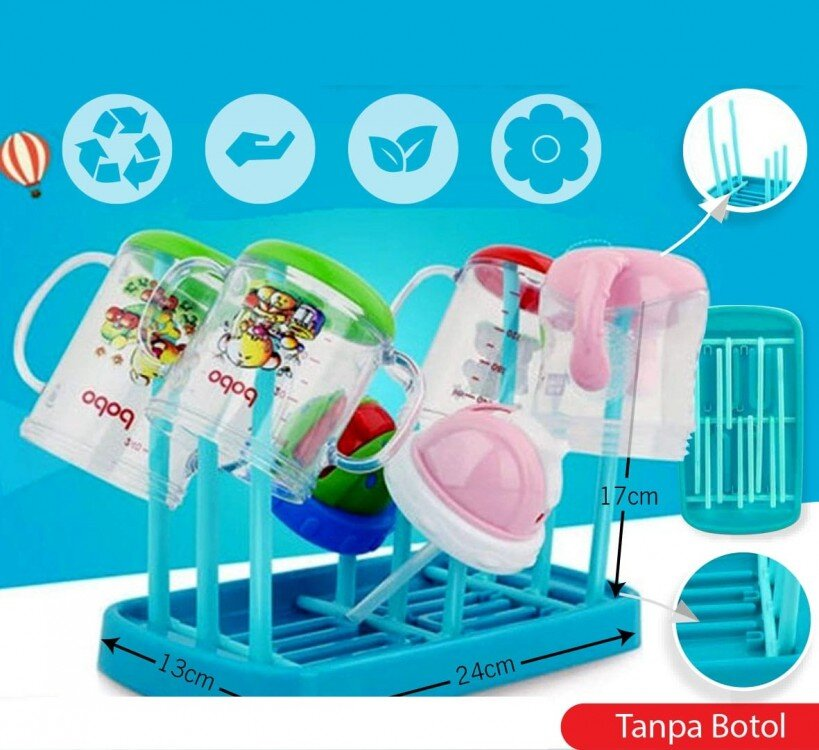 Baby Bottle Drying Rack / Pengering Botol / Rak Botol 20080059