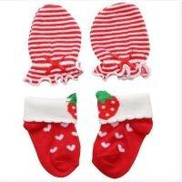 Sarung Tangan dan Kaki Merah Baby Grow Girl 20090015