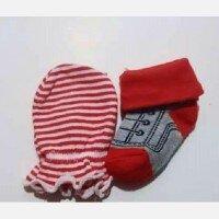 Sarung Tangan dan Kaki Merah Baby Grow Boy 20090014