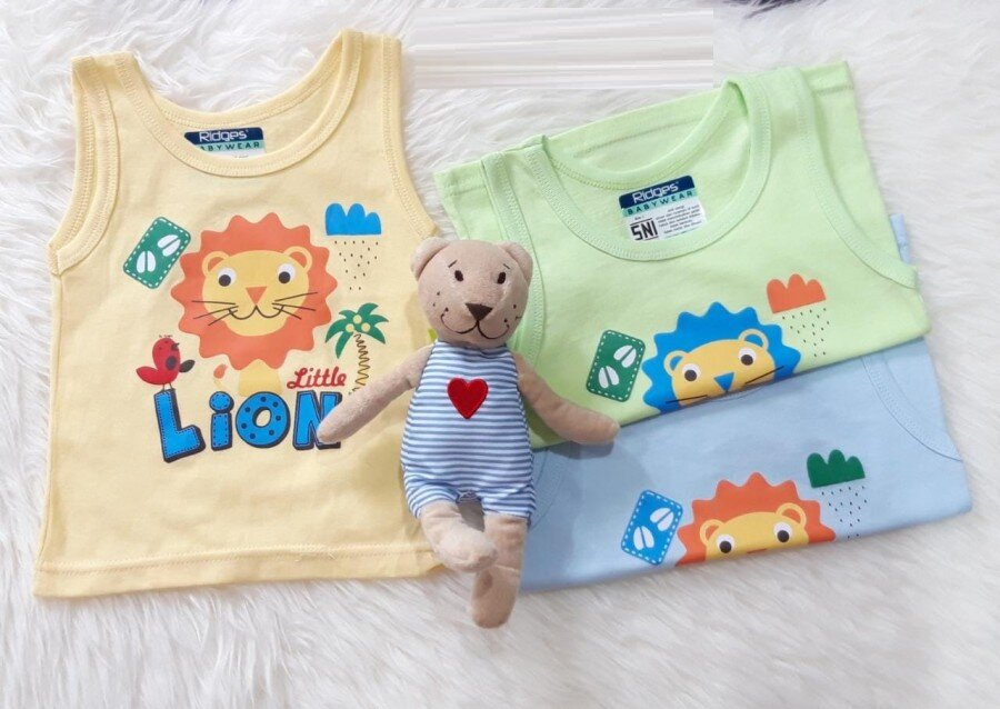 Baju Atasan Singlet Anak Ridges Little Lion S 20090001