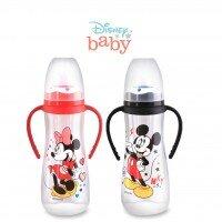 Botol Susu Bayi Mickey Minnie Pegangan Lusty Bunny 250ml 20100026 (with Handle)