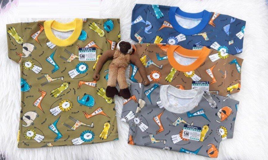 Baju Atasan Kaos Anak Ridges Lion & Dino L 20100061