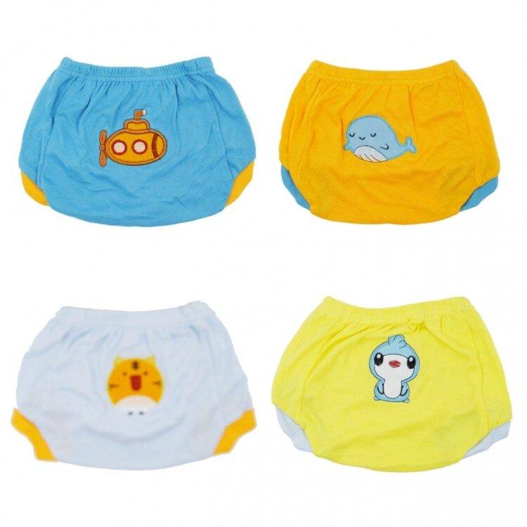 Celana Pop Bayi / Pop Pants 6 in 1 Pack 12 Months Boy