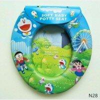 Baby Potty Seat Anak / Dudukan Toilet Anak Doraemon (No Handle)