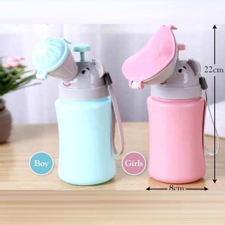 Pispot Portable Anak Perempuan / Potty Traveling Anak / Travel Toilet Bottle Girl 20110057