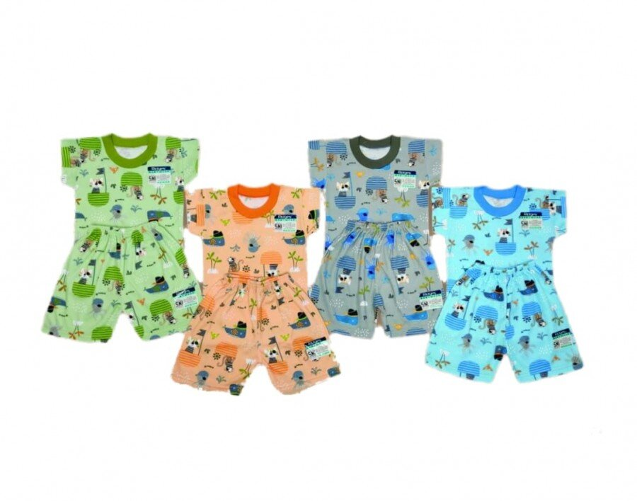 Baju Atasan Kaos Anak Ridges Pirates Cats S 21010001 (Atasan Saja)