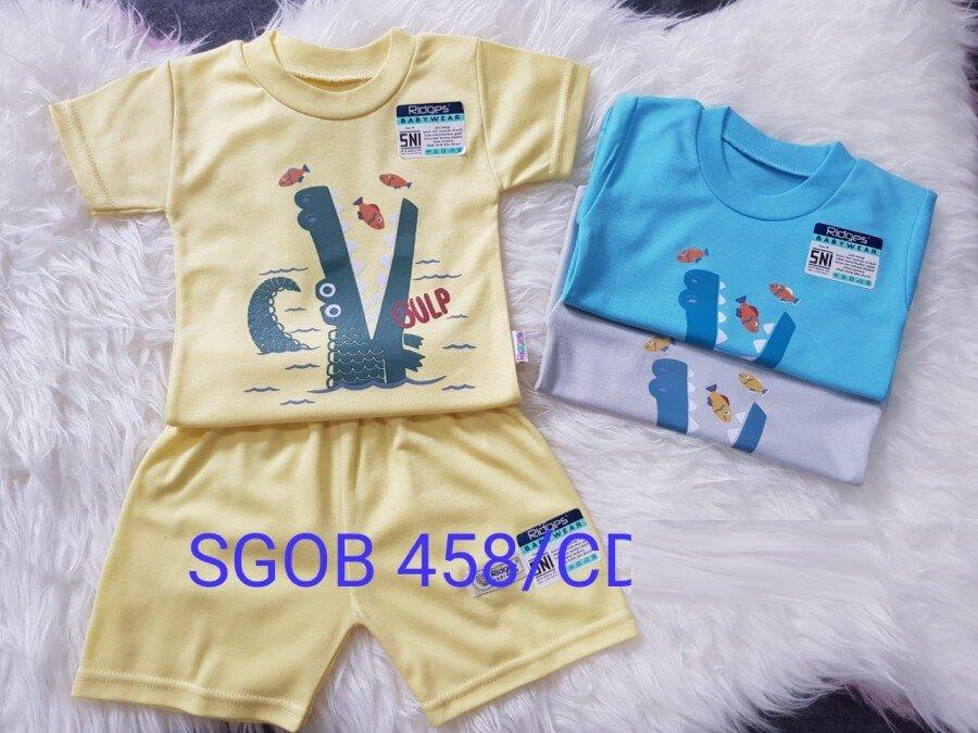 Baju Atasan Kaos Anak Ridges Crocodile M 20120072 (Atasan Saja)