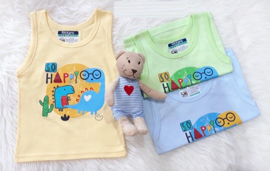 Baju Atasan Singlet Anak Ridges So Happy L 20090055